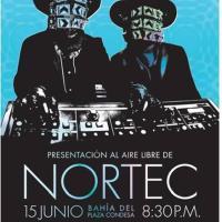"""""""Nortec"""" en la bahía del Plaza Condesa el 15 de junio."""