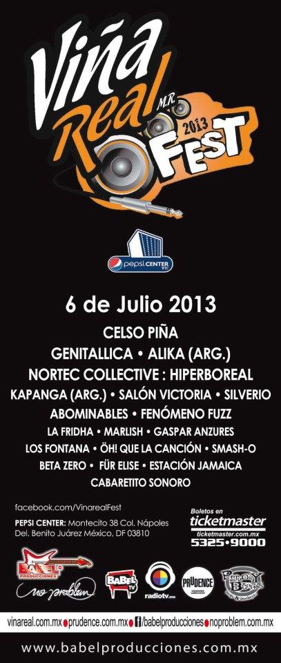 Vina Real Fest 2013
