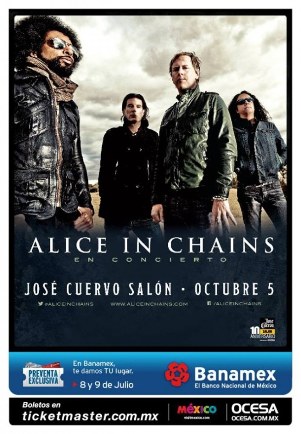 Alice In Chains Flyer