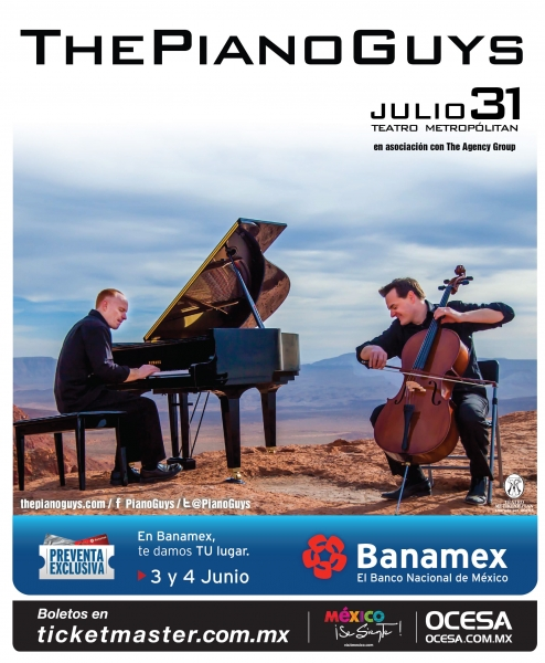 Piano Guys Mx