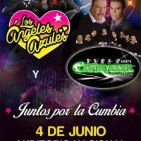 ¡¡¡Vibrará el Auditorio Nacional, Los Ángeles Azules y Cañaveral por primera vez Juntos por la  Cumbia!!!