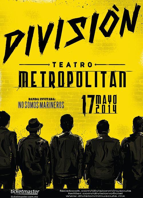 División-Minúscula-Metropólitan